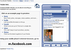 Access FaceBook On Your Mobile