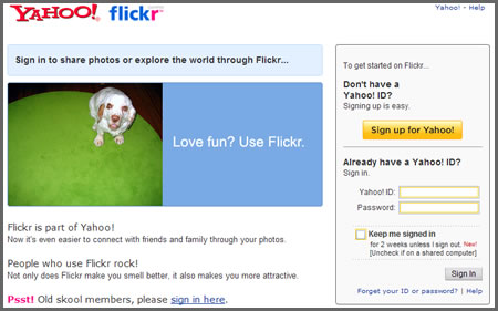 Flick Off: We don't want Yahoo! accounts