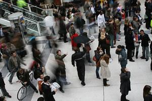 Frozen: Liverpool Street Station Flashmob