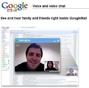 Gmail Introduces GMail Voice And Video Chat