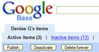 All Your Google Base Are Belong To Us