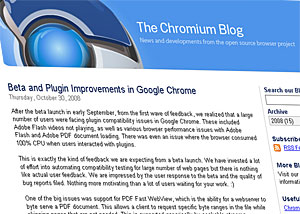 Google Chrome Update Offers Improved Plug In Support