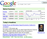 Google Finance Beta Launches