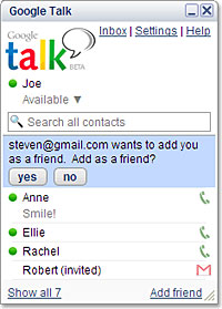 Google Launches Online IM And Voice Chat Service