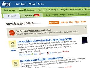 Google To Buy Up Digg?
