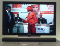 3D TV Live Demo By Grundig, Eventually: IFA