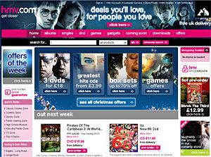HMV And Play.com Prep Film Download Services