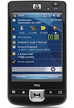 HP iPAQ 210 Enterprise PDA