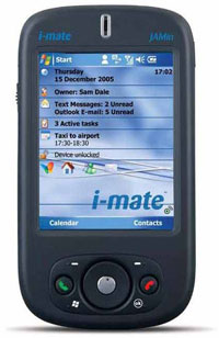 i-mate JAMin PDA/Smartphone Expected Soon