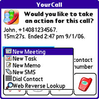 Iambic YourCall For Palm Treo Review (80%)