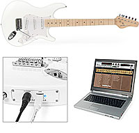iAxe USB Guitar For Laptop-Toting Plank Spankers