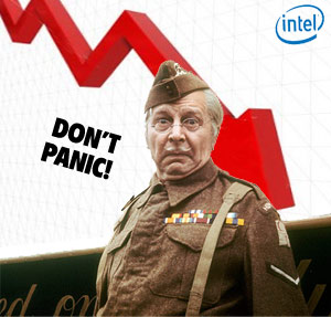 Intel Profits Plummet, But Company Keeps Chirpy