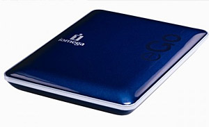 Iomega eGo Portable Hard Drives Announced