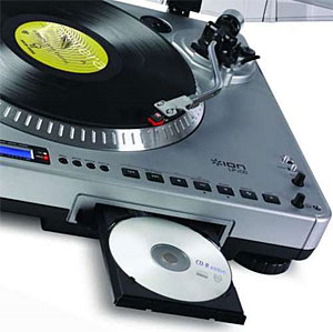 Ion LP2 CD Offers PC-Free Vinyl To CD Conversion