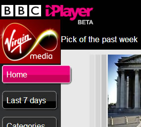 Virgin Media: BBC iPlayer Via TV First
