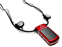 iRiver N12 Necklace MP3 Player