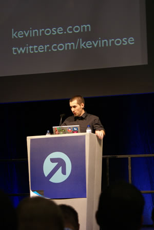 Kevin Rose: The Futue of News: Live Coverage