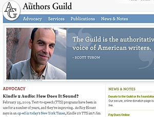 Kindle 2 Text-To-Speech Feature Blasted By Authors Guild