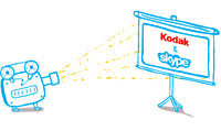 Kodak Teams Up With Skype For Photo Voice Service