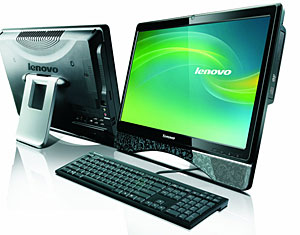 Lenovo Throws Down An Atom-powered C300 All-In-One PC