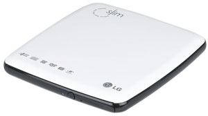 LG  GSA-E5ON Slim Portable CD/DVD Rewriter Review (76%)