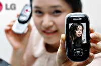 LG LG-KF1100 One Phone II And XNOTE TX Laptop