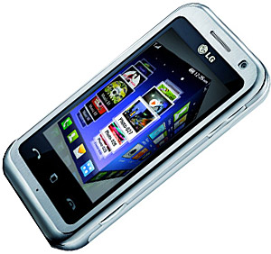 LG KM900 Arena Touchscreen Mobile Announced