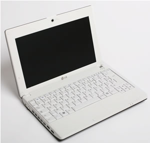 LG Netbook X110 Launched: IFA 2008