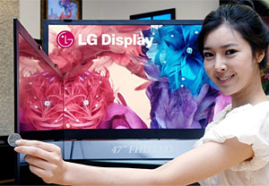 LG's World Thinnest LCD: Wafer Thin At 0.23 Inches Thick
