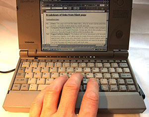 Toshiba Libretto 50 Ultra Mobile PC- Ten Years On