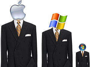 Mac OSX And XP Trump Vista For Corporate Satisfaction