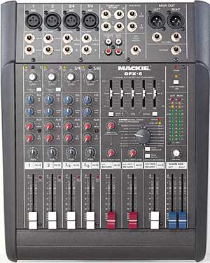 Mackie DFX-6 mixer review