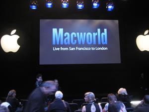 Apple Macworld Keynote