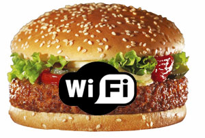 McDonalds Offers Free Wi-Fi And Fries