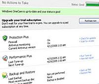Microsoft Trial OneCare Live PC Health App