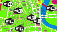 Microsoft Maps WiFi For Alternative GPS System