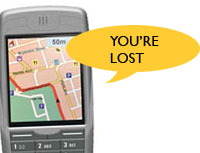 Mobile Users Want GPS Tools Not Mobile TV