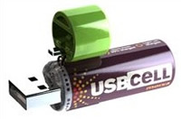 Moxia USBCell: Rechargeable Batteries via USB