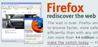 Firefox Use Up 50% In 2006