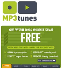 MP3Tunes Oboe: Now Unlimited Free Storage