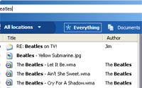 MSN Search Toolbar With Windows Desktop Search