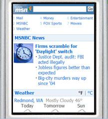 Microsoft Revamps MSN Mobile