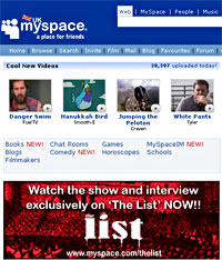 MySpace Mobile Announced For Cingular