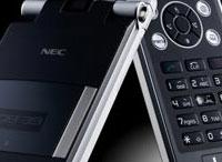 NEC L1 Launches World's Thinnest Folding Camera Phone