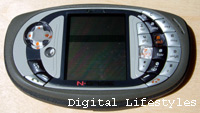 The N-Gage game deck