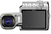Nikon Coolpix S4 Swivels Out