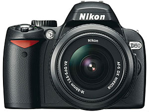 Nikon Announces D60 10MP dSLR