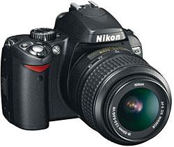 Nikon Announces D60 10MP dSLR