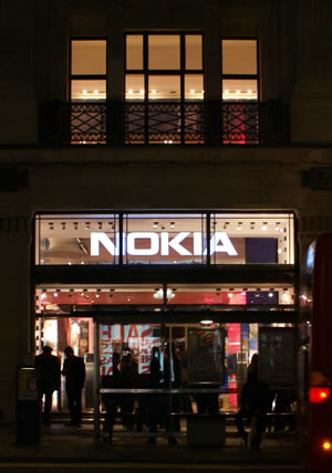 Nokia Flagship Store Opening: Regent Street, London
