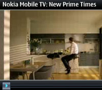 Nokia Trials Mobile TV With TeliaSonera Sweden